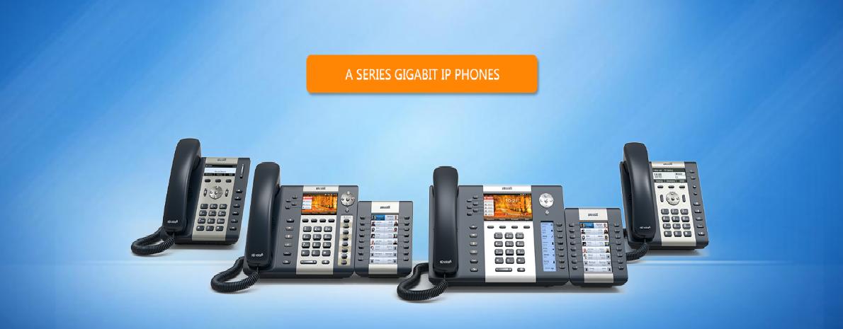 Gigabit IP Phones