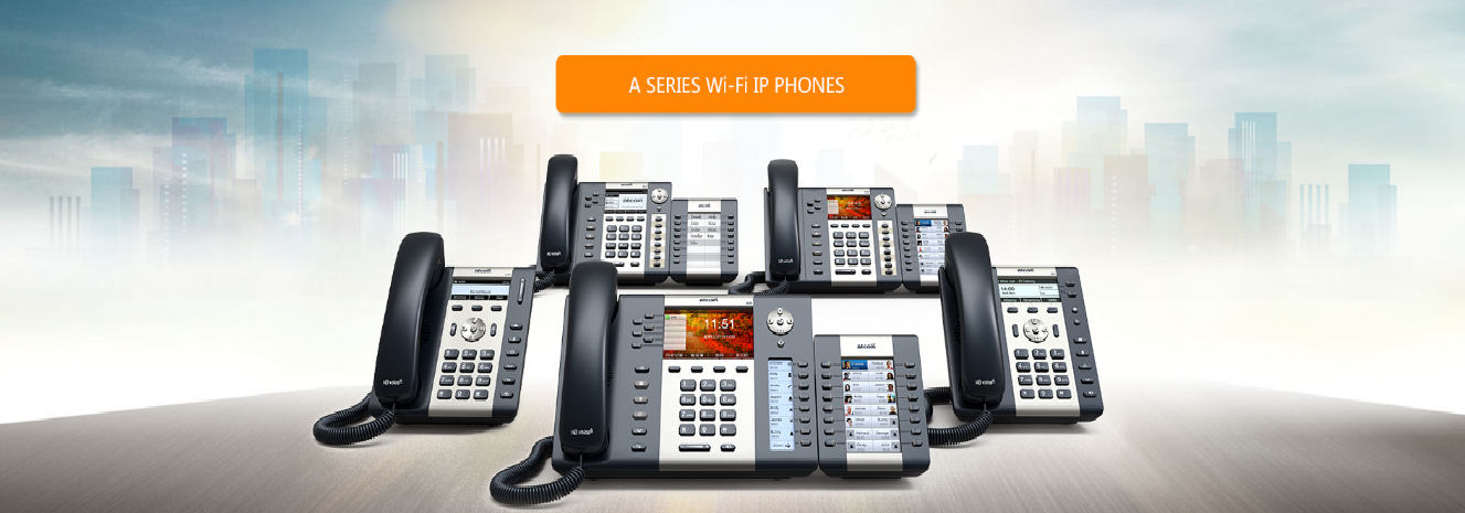 Wi-Fi IP Phones